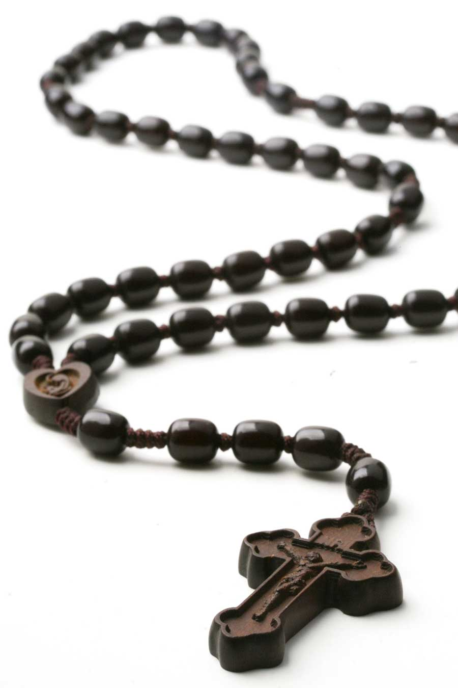 how to make a cord rosary with beads