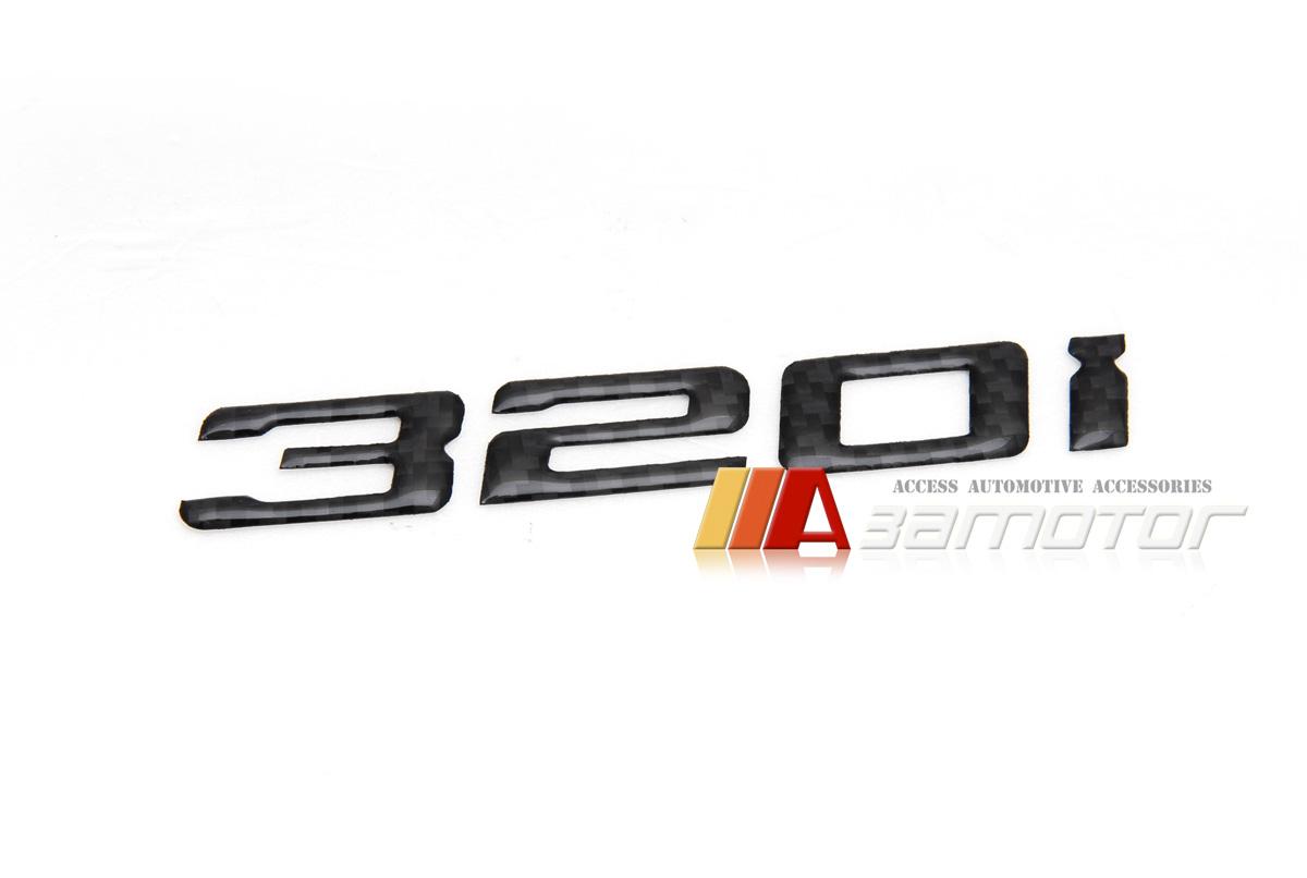 Bmw E30 E36 E46 E90 F30 Rear Trunk Lid Emblem Badge Carbon