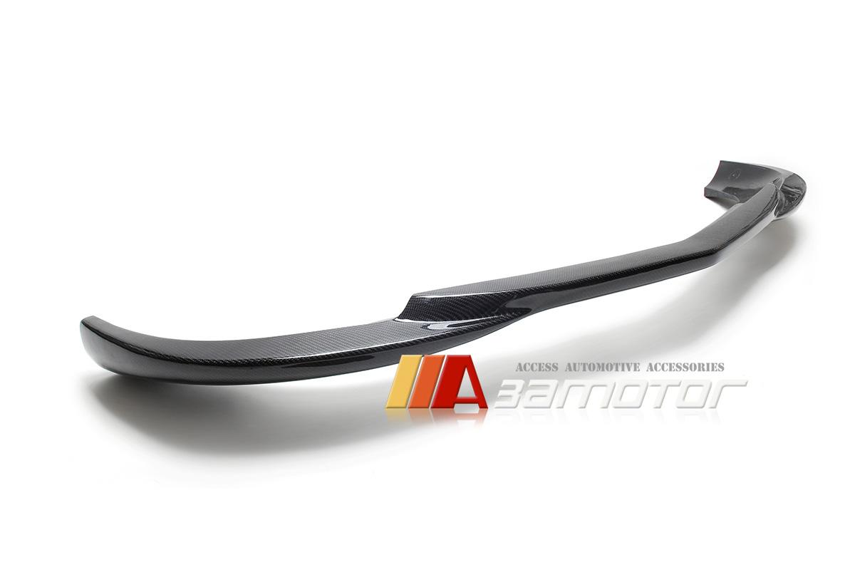 Carbon Fiber Front Lip for 1113 Mercedes W204 C350 Facelift AMG