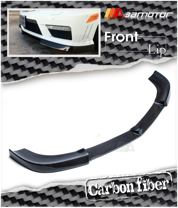 Carbon Fibre Front Bumper Spoiler Splitters for Mercedes R171 SLK Class 350 200