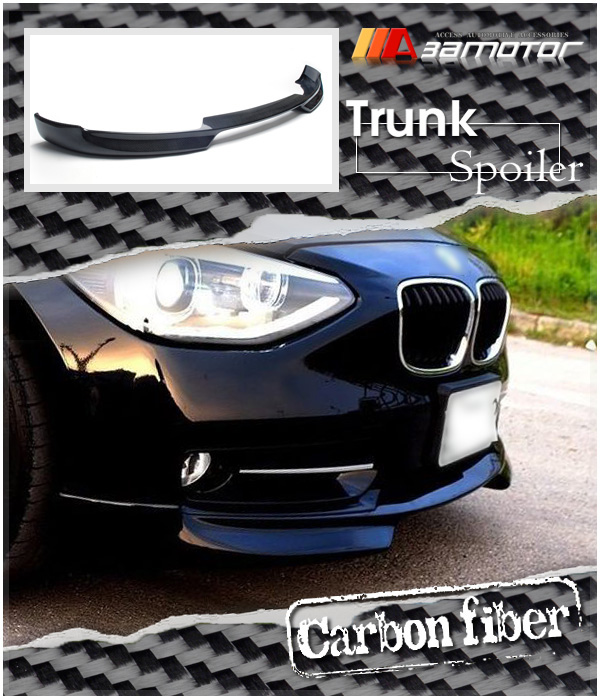 carbon fiber front lip spoiler splitter for bmw f20 1. Black Bedroom Furniture Sets. Home Design Ideas