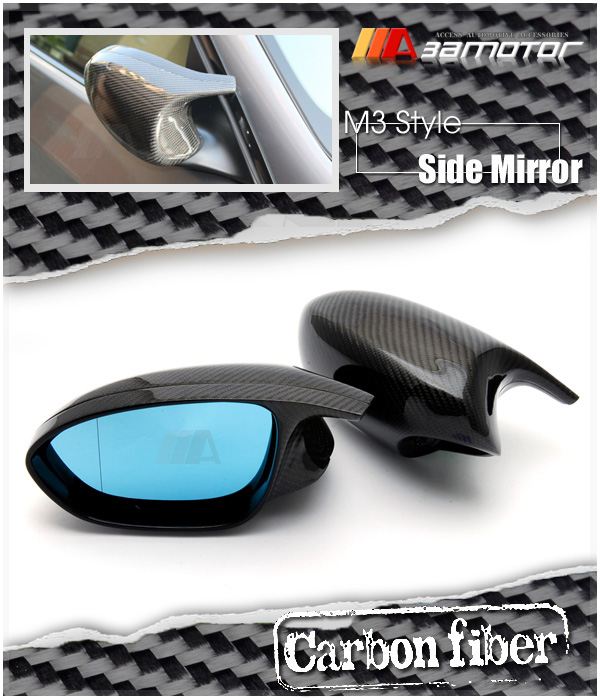 Bmw Z3 Wing Mirror Mount: Carbon Fiber M3 Side Door Mirrors + Polarize Mirror For