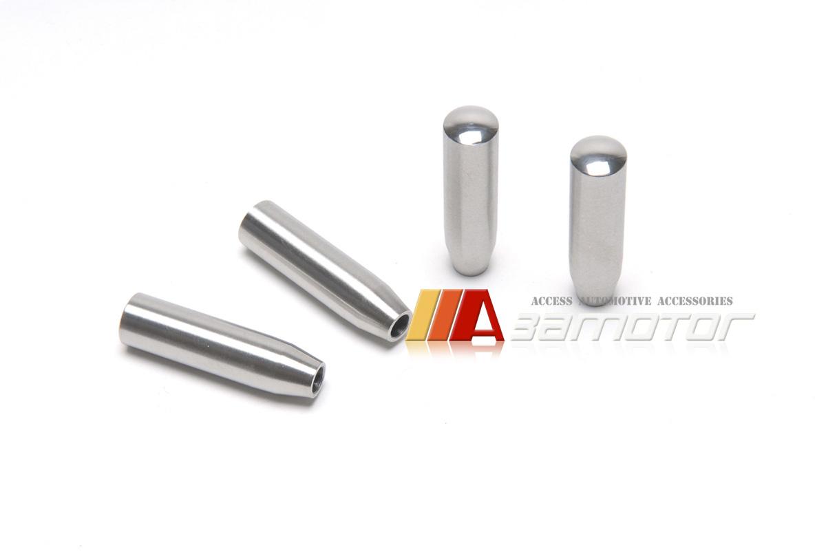 Stainless metal door lock pins for mercedes w203 c55 amg for Mercedes benz door lock pins