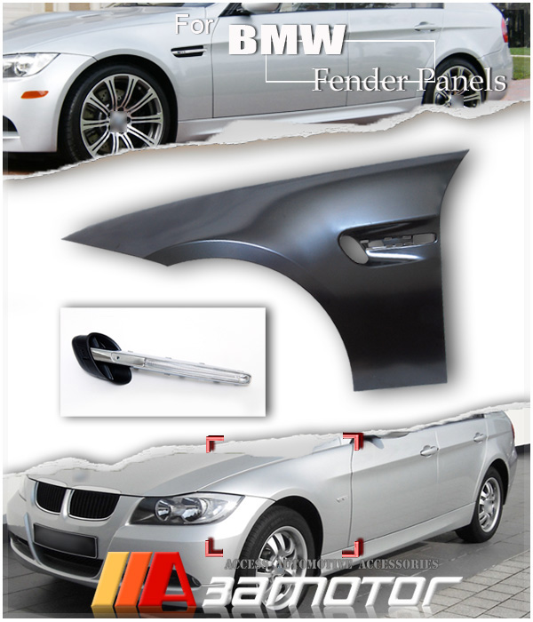 Bmw Xi 328: BMW M3 Style Look Front Fender Side Panels E90 Sedan