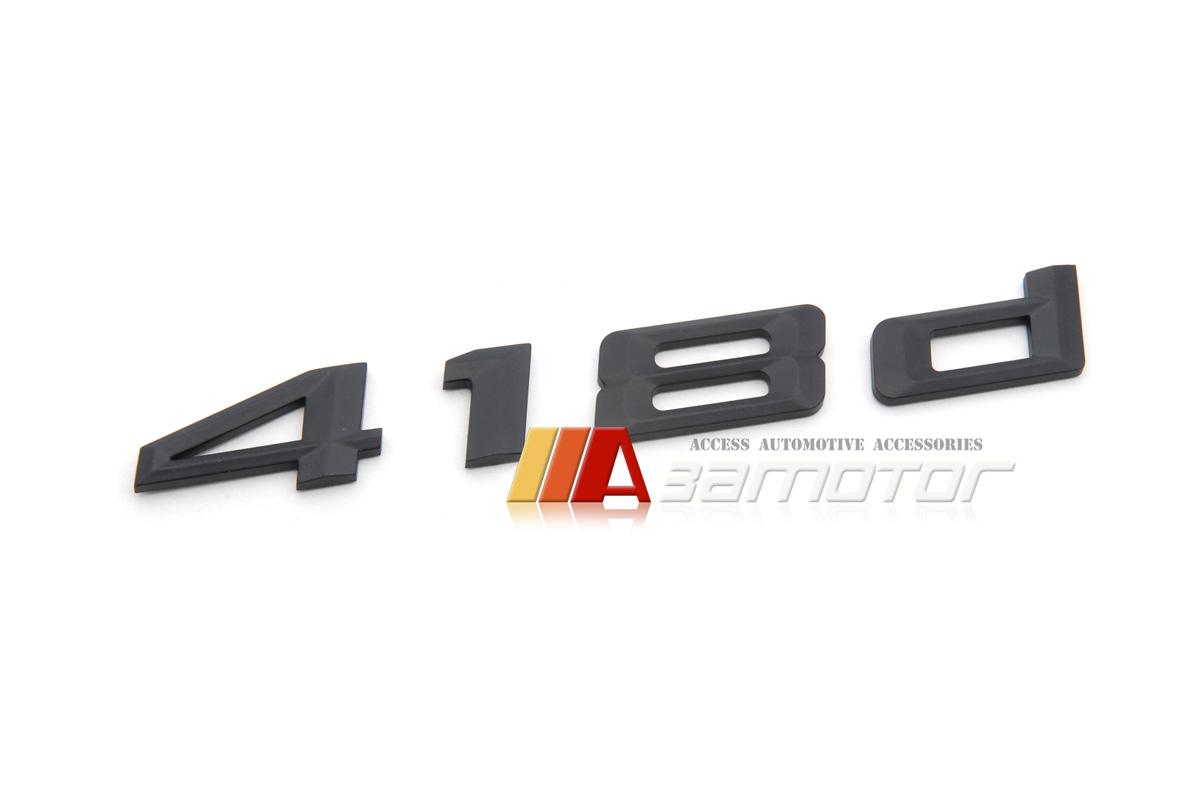Chrome BMW 4 series F32 F33 F36 435d Trunk Emblem Badge Decal Letter Sticker