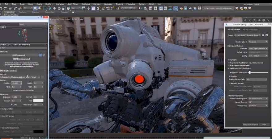 3dmax 2022 news viewport DX12 and more