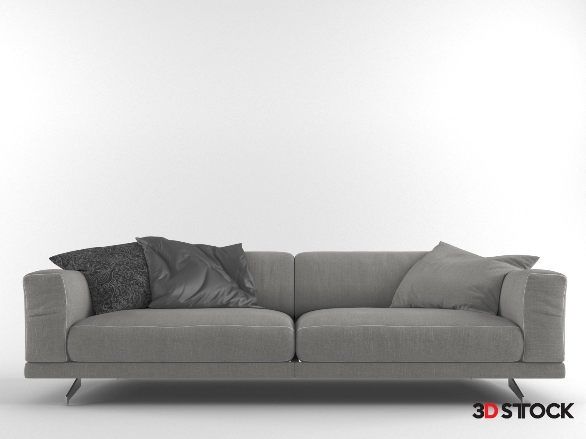 Aston Martin Sofa 3d Stock 3d Models For Professionals