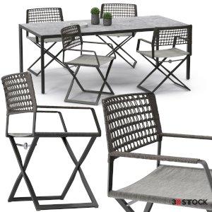 High quality model of Regista chair set