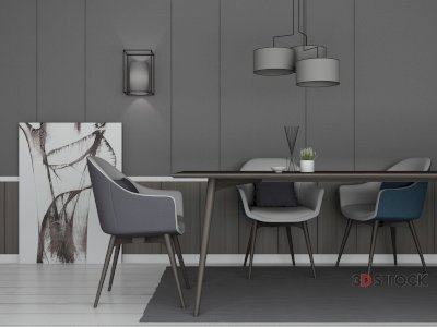 Table & Chair Set 12