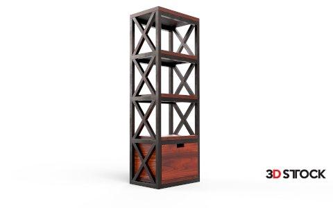 Loft-style shelf