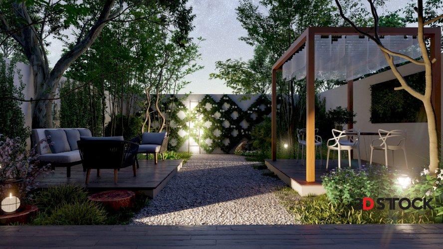 Small Lumion 10 Garden