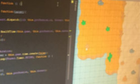 Code and level editor