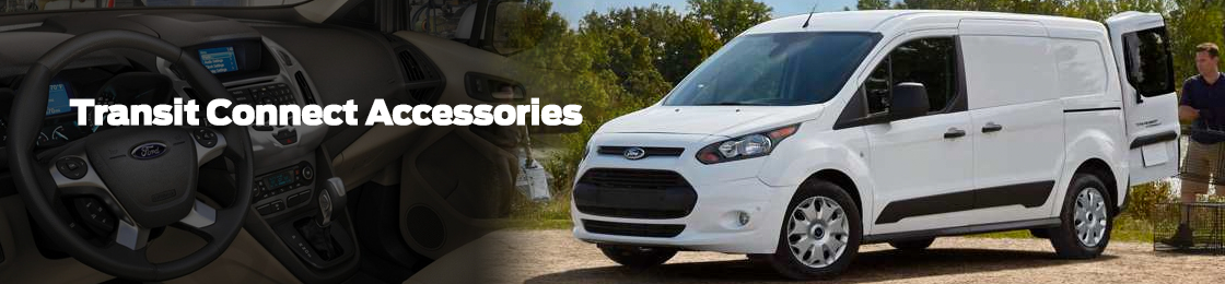 Shop Genuine Ford Transit Connect Van Accessories at Titus Will Ford in Tacoma, WA