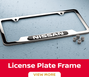 Click to order the Maxima license plate frame at Carr Nissan in Beaverton, OR