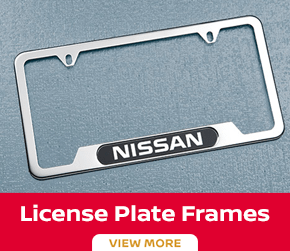 Click to order the Sentra license plate frames at Carr Nissan in Beaverton, OR