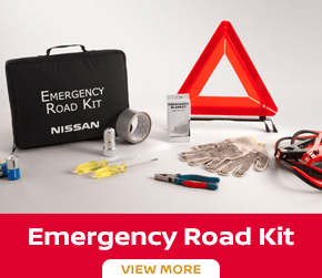 Click to order the Versa emergency road kit at Carr Nissan in Beaverton, OR