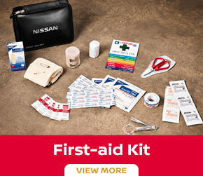 Click to order the Versa first aid kit at Carr Nissan in Beaverton, OR