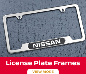 Click to order the Versa license plate frame at Carr Nissan in Beaverton, OR