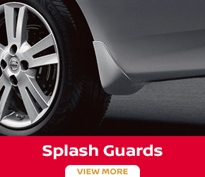 Click to order the Versa splash guards at Carr Nissan in Beaverton, OR