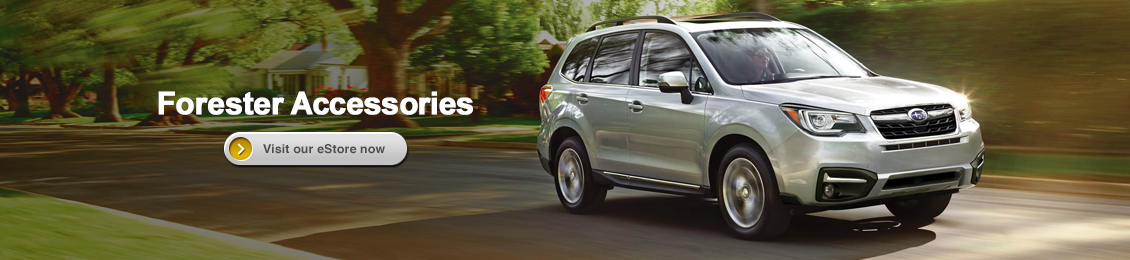 Visit our Genuine Subaru Parts and Accessories eStore and shop online for Forester accessories with Carlsen Subaru in Redwood City serving San Francisco, CA
