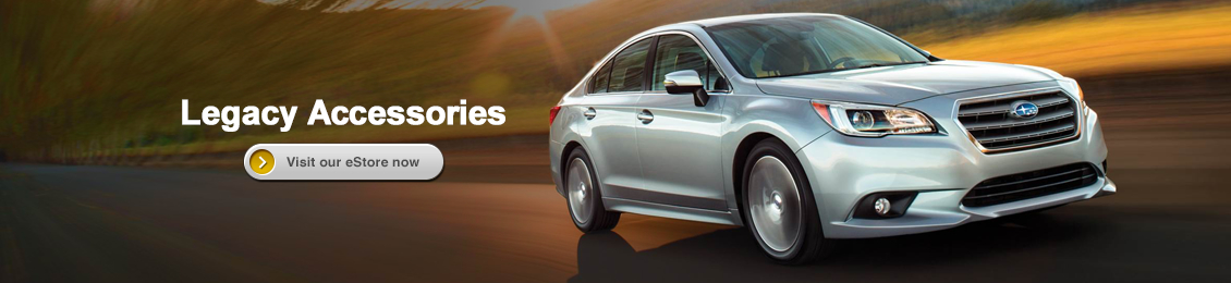 Visit our Genuine Subaru Parts and Accessories eStore and shop online for Legacy accessories with Carlsen Subaru in Redwood City serving San Francisco, CA