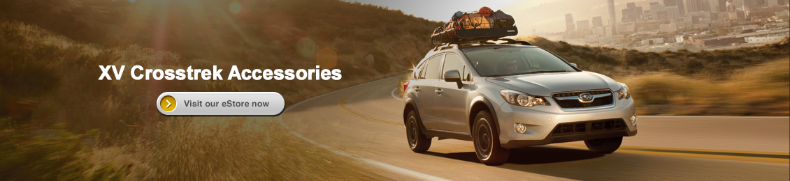 Visit our Genuine Subaru Parts and Accessories eStore and shop online for XV Crosstrek accessories with Carlsen Subaru in Redwood City serving San Francisco, CA