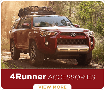 Click to learn more about genuine Toyota 4Runner accessories