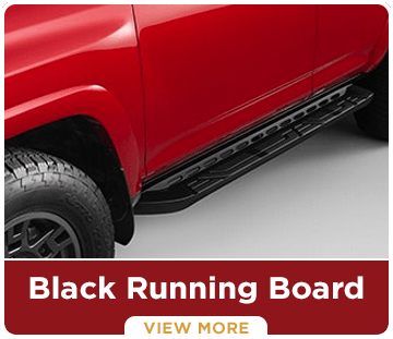 Click to view this 4Runner Black Running Board accessory in Tacoma, WA