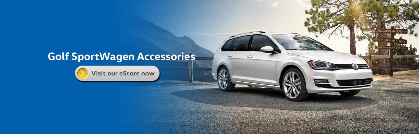 Genuine Volkswagen Golf SportWagen Accessories Information in Seattle, WA