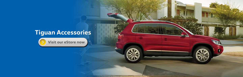 Volkswagen Tiguan Genuine Accessory Information in Seattle, WA