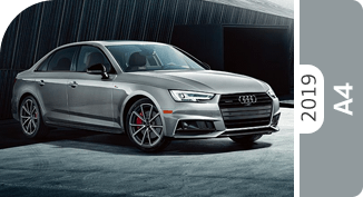 Click below to compare the new 2019 Audi A4 versus other makes and models!