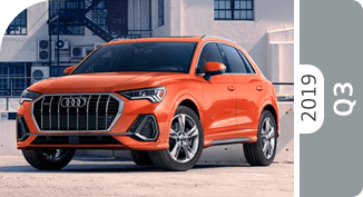 Click below to compare the new 2019 Audi Q3 SUV model versus other luxury makes and models!