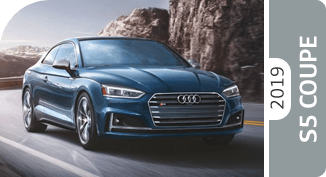 Click below to compare the new 2019 Audi S5 Coupe versus other makes and models!