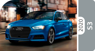2020 Audi S3 Model Comparisons at McKenna Audi