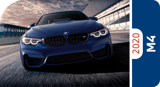 Compare the 2020 BMW M4 Series models with other competitive models and vehicle makes.