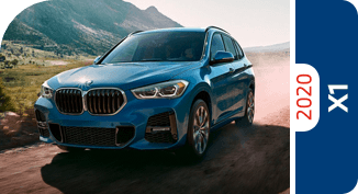 Compare the 2020 BMW X1 model with other competitive models and vehicle makes.