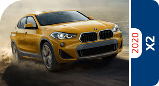 Compare the 2020 BMW X2 model with other competitive models and vehicle makes.