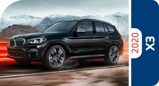 Compare the 2020 BMW X3 model with other competitive models and vehicle makes.