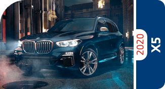 Compare the 2020 BMW X5 models with other competitive models and vehicle makes.