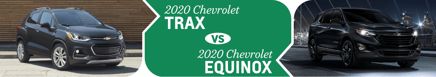 Chevrolet SUV Comparison: Chevy Trax vs Equinox | El Paso, TX