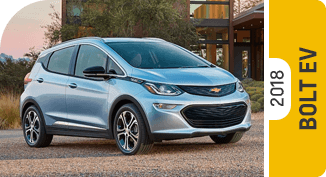 Click on each link to compare the 2018 Chevrolet Bolt EV to the competition
