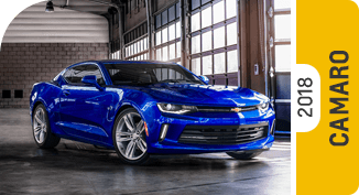 Click on each link to compare the Chevrolet Camaro to the competition