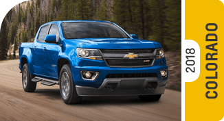 Click on each link to compare the Chevrolet Colorado to the competition