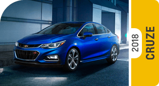 Click on each link to compare the Chevrolet Cruze to the competition