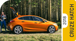 Click on each link to compare the Chevrolet Cruze Hatchback to the competition