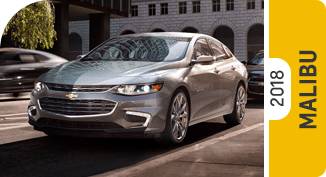Click on each link to compare the Chevrolet Malibu to the competition