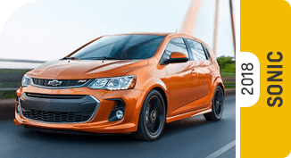 Click on each link to compare the Chevrolet Sonic to the competition