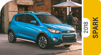 Click on each link to compare the Chevrolet Spark to the competition