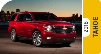 Click on each link to compare the Chevrolet Tahoe to the competition