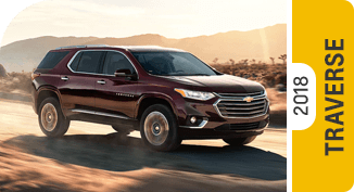 Click on each link to compare the Chevrolet Traverse to the competition